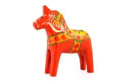 Σουηδικό άλογο Dala Στοκ Εικόνες