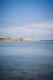 Σουηδικό θερινό σπίτι Στοκ εικόνες με δικαίωμα ελεύθερης χρήσης