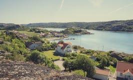 Σουηδικό ψαροχώρι Στοκ φωτογραφίες με δικαίωμα ελεύθερης χρήσης