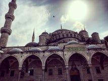 Σουλτάνος ah συνερχόμενη Ιστανμπούλ μουσουλμανικών τεμενών ιστορίας στοκ εικόνες με δικαίωμα ελεύθερης χρήσης