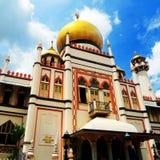 σουλτάνος Σινγκαπούρης μουσουλμανικών τεμενών Στοκ Εικόνες