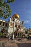 σουλτάνος Σινγκαπούρης μουσουλμανικών τεμενών Στοκ εικόνες με δικαίωμα ελεύθερης χρήσης