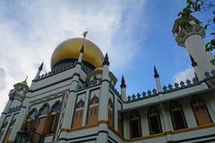 σουλτάνος Σινγκαπούρης μουσουλμανικών τεμενών Στοκ Φωτογραφίες