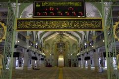 σουλτάνος Σινγκαπούρης μουσουλμανικών τεμενών Στοκ Φωτογραφία