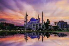 Σουλτάνος Ahmad Shah Masjid Στοκ εικόνα με δικαίωμα ελεύθερης χρήσης