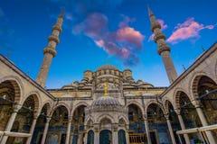 Σουλτάνος Ahmed Mosque ή μπλε μουσουλμανικό τέμενος, Κωνσταντινούπολη, Τουρκία Στοκ Εικόνες