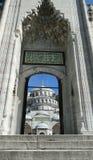 Σουλτάνος Ahmet - μπλε μουσουλμανικό τέμενος, Κωνσταντινούπολη στην Τουρκία στοκ φωτογραφίες