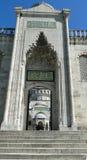 Σουλτάνος Ahmet - μπλε μουσουλμανικό τέμενος, Κωνσταντινούπολη στην Τουρκία στοκ εικόνες με δικαίωμα ελεύθερης χρήσης
