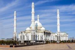Σουλτάνος Hazrat μουσουλμανικών τεμενών στην πόλη Astana Στοκ φωτογραφίες με δικαίωμα ελεύθερης χρήσης