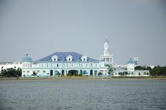 Σουλτάνος Ismail Mosque σε Muar, Johor, Μαλαισία στοκ εικόνες