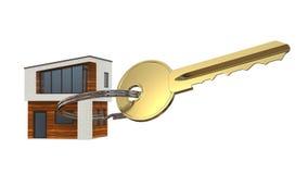 Σοφίτα κλειδιών και σπιτιών Στοκ Φωτογραφία