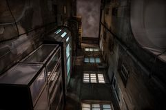 Σοφίτες πόλεων Στοκ φωτογραφίες με δικαίωμα ελεύθερης χρήσης