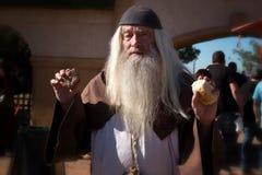 Σοφό άτομο φεστιβάλ αναγέννησης της Αριζόνα Στοκ Φωτογραφίες