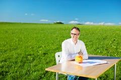 Σοφό άτομο Στοκ εικόνα με δικαίωμα ελεύθερης χρήσης
