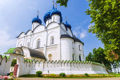 Σούζνταλ Κρεμλίνο, χρυσό δαχτυλίδι της Ρωσίας Στοκ εικόνα με δικαίωμα ελεύθερης χρήσης