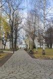 Σούζνταλ, Ρωσία -06 11 2015 Πάρκο στο έδαφος Στοκ Φωτογραφία