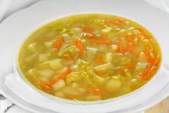 Σούπα λάχανων κραμπολάχανου Στοκ Εικόνες