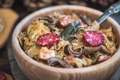 Σούπα λάχανων Στοκ Εικόνες