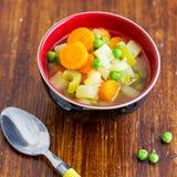 Σούπα λαχανικών άνοιξη στοκ φωτογραφία με δικαίωμα ελεύθερης χρήσης