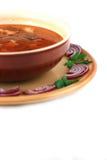 σούπα βόειου κρέατος Στοκ εικόνα με δικαίωμα ελεύθερης χρήσης