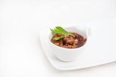 Σούπα βόειου κρέατος Στοκ εικόνες με δικαίωμα ελεύθερης χρήσης