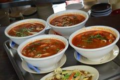 Σούπα διοσκορέων του Tom στοκ εικόνα