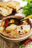 Σούπα και πίτα λάχανων Στοκ Φωτογραφία