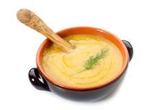 σούπα καρότων στοκ εικόνα