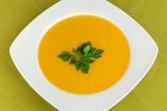 σούπα καρότων Στοκ Φωτογραφία