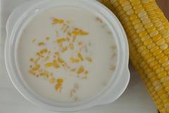 Σούπα καλαμποκιού Στοκ φωτογραφία με δικαίωμα ελεύθερης χρήσης