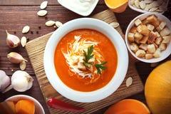 Σούπα κολοκύθας Στοκ Εικόνα