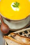 Σούπα κολοκύθας Στοκ φωτογραφία με δικαίωμα ελεύθερης χρήσης