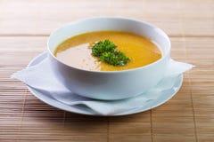 Σούπα κολοκύθας στοκ εικόνες με δικαίωμα ελεύθερης χρήσης