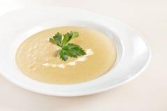 Σούπα κρέμας κρεμμυδιών Στοκ Φωτογραφία