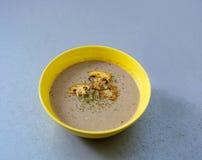 Σούπα κρέμας μανιταριών Στοκ εικόνα με δικαίωμα ελεύθερης χρήσης