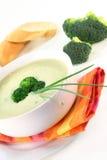 σούπα κρέμας μπρόκολου στοκ φωτογραφία με δικαίωμα ελεύθερης χρήσης