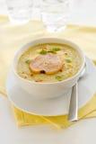 Σούπα κρέμας παστινακών Στοκ φωτογραφίες με δικαίωμα ελεύθερης χρήσης