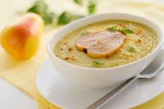 Σούπα κρέμας παστινακών Στοκ εικόνα με δικαίωμα ελεύθερης χρήσης