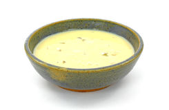 σούπα κρέμας σέλινου Στοκ φωτογραφία με δικαίωμα ελεύθερης χρήσης