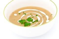 Σούπα κρέμας στοκ εικόνα με δικαίωμα ελεύθερης χρήσης