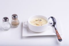 σούπα κρέμας Στοκ Φωτογραφία