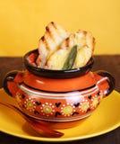 σούπα κρεμμυδιών Στοκ Φωτογραφία