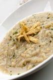 Σούπα κρεμμυδιών με croutons Στοκ φωτογραφίες με δικαίωμα ελεύθερης χρήσης