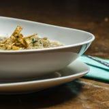 Σούπα κρεμμυδιών με croutons Στοκ Εικόνες