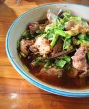 Σούπα κόκκαλων χοιρινού κρέατος Στοκ Φωτογραφία