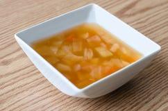 Σούπα μακαρονιών Στοκ Φωτογραφία