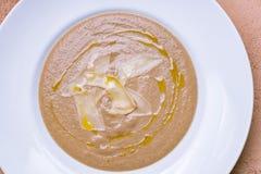 σούπα μανιταριών κρέμας Στοκ φωτογραφία με δικαίωμα ελεύθερης χρήσης