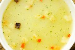 σούπα μανιταριών Στοκ Φωτογραφία