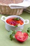 Σούπα με τα φασόλια νεφρών Στοκ εικόνα με δικαίωμα ελεύθερης χρήσης