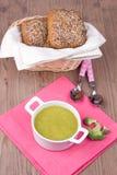 Σούπα με το broccolli Στοκ Εικόνες